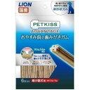 ライオン PKAおやすみ前の歯みがきガム超小型犬用6本 [犬用スナック]