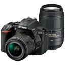 【送料無料】Nikon D5500 ダブルズームキット ブラ...