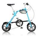 【送料無料】nanoo FD-1207 ブルー [折りたたみ自転車(12インチ・7段変速)]【同梱配送不可】【代引き不可】【沖縄・離島配送不可】