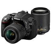 【送料無料】Nikon D5300WZBK2 ブラック D5300 [デジタル一眼カメラ (2416万画素)]