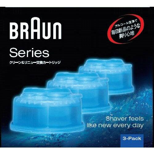BRAUNCCR3CR[専用洗浄液クリーン&リニューシステム専用洗浄液カートリッジ(3個入)]