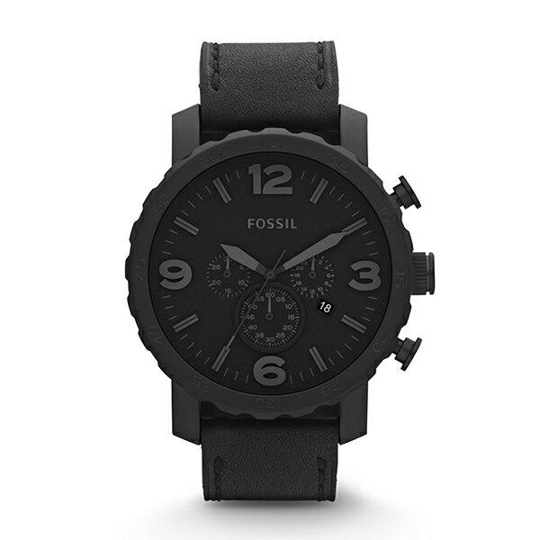【送料無料】FOSSIL JR1354 ブラック NATE(ネイト) [腕時計]