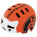 DOPPELGANGER DHL270-OR オレンジ Attivo gasur(アッティーボガスール) [キッズヘルメット(51-55cm)]