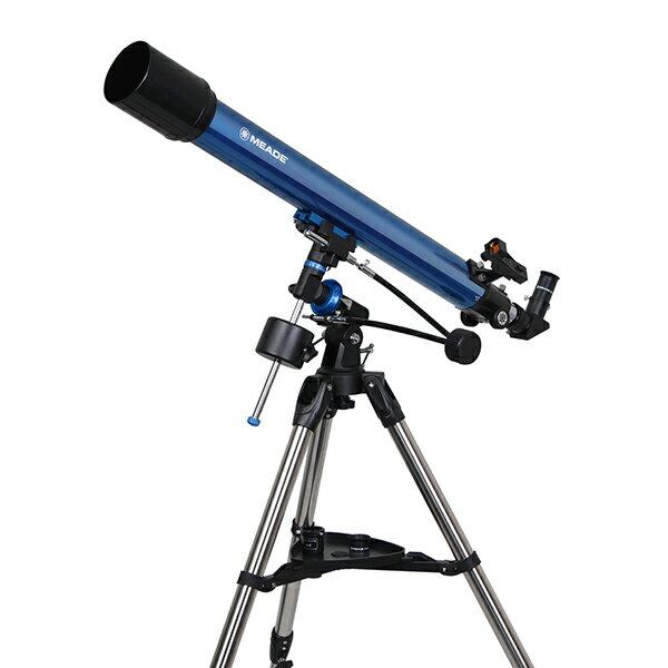 【送料無料】MEADE EQM-70 [屈折式・赤道儀式天体望遠鏡(口径70mm)]