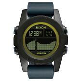 【送料無料】NIXON NX-A2822058 ブラック/ダークグレー/シャルトリューズ THE UNIT TIDE(ユニット タイド) [クォーツ腕時計(メンズ)]