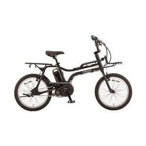 【送料無料】PANASONIC BE-ELZ03-B マットナイト イーゼット [電動アシスト自転車(20インチ・内装3段)]【同梱配送】【き】【本州以外の配送】 ワイルド感溢れるモトクロスタイプの電動スポーツバイク