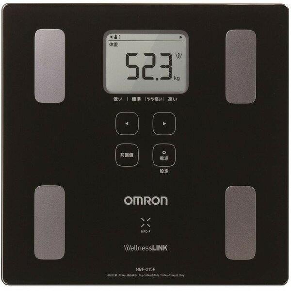 OMRON HBF-215F-BK ブラック カラダスキャン [体重体組成計]