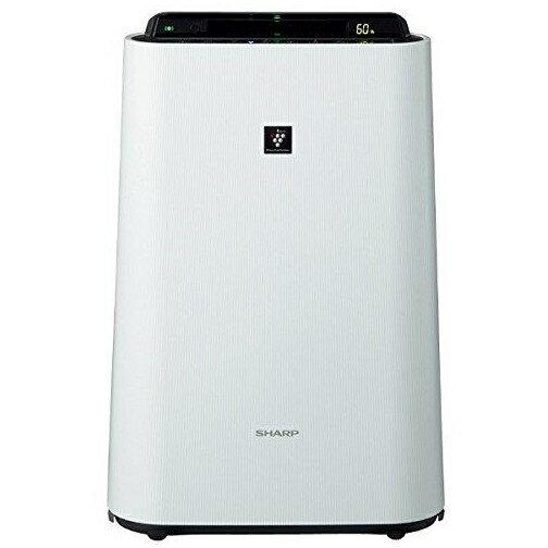 SHARP  KC-F50-W ホワイト系  ]加湿/除電/節電/高濃度プラズマクラスター7000/花粉/脱臭/ウイルス/ホコリ/パワフル吸塵/PM2.5対応/静か寝/簡単お手入れ