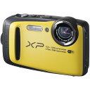 【送料無料】富士フィルム FinePix XP90 イエロー[コンパクトデジタルカメラ(1640万画素)]【同梱配送不可】【代引き不可】【沖縄・離島配送不可】