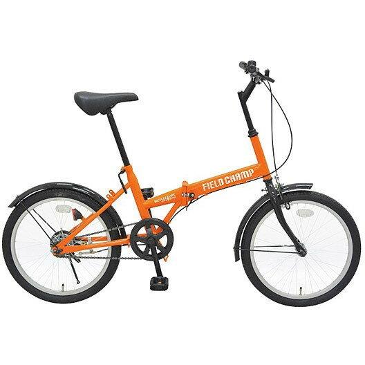 【送料無料】ミムゴ MG-FCP20 FIELD CHAMP FDB20 [折りたたみ自転車 (20型)]【同梱配送】【き】【沖縄・北海道・離島配送】 魅力的なオレンジフレームが映える20インチ折畳自転車