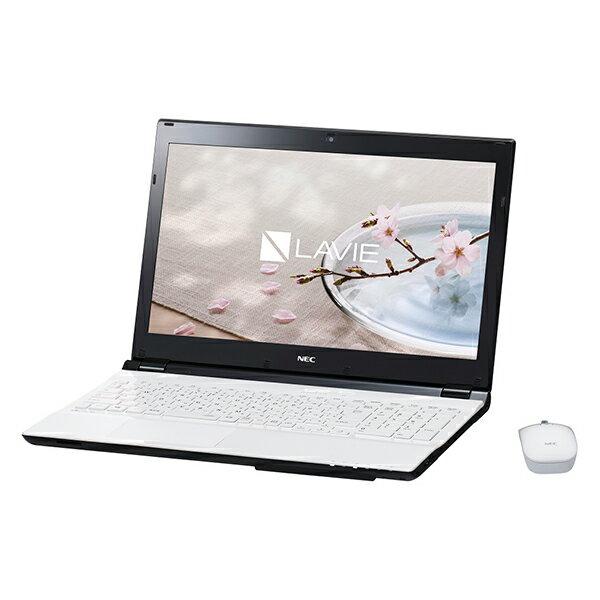 【送料無料】NEC GN234FSA7-XZ457 クリスタルホワイト LAVIE Direct NS(S) [ノートパソコン 15.6型ワイド液晶 HDD1TB]