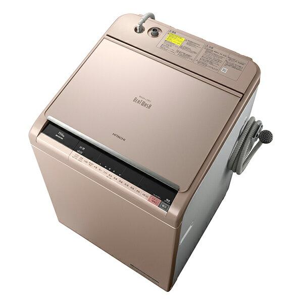 【送料無料】日立 BW-DX110A(N) シャンパン ビートウォッシュ [洗濯乾燥機 (洗濯11kg・乾燥6kg)]【代引き不可】