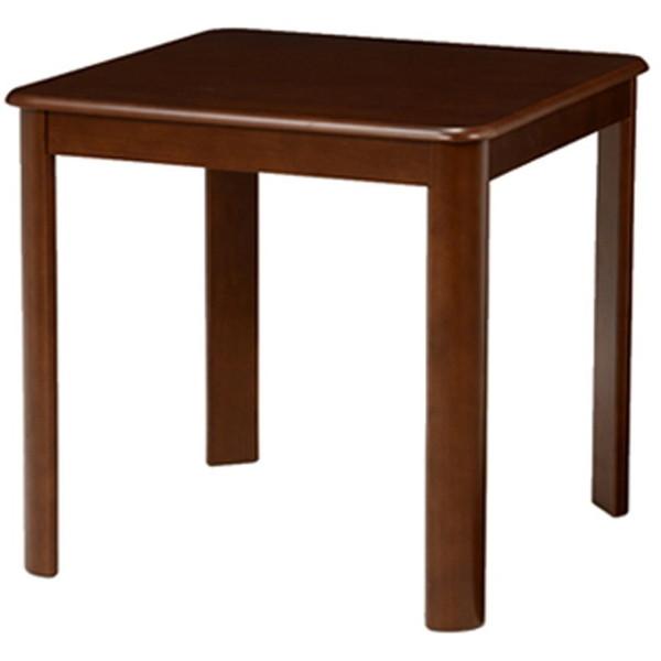 【送料無料】萩原 VDT-7683DBR ダイニングテーブル ダークブラウン【同梱配送】【き】【沖縄・北海道・離島配送】 シンプルだからこそ木目が映える、落ち着いたデザインのダイニングテーブル。