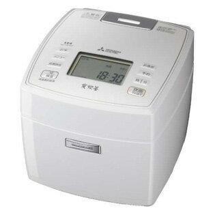 【送料無料】MITSUBISHI NJ-VE107-W ピュアホワイト 備長炭 炭炊釜 [IH炊飯器 (5.5合炊き)] 三菱 炊飯器 おすすめ