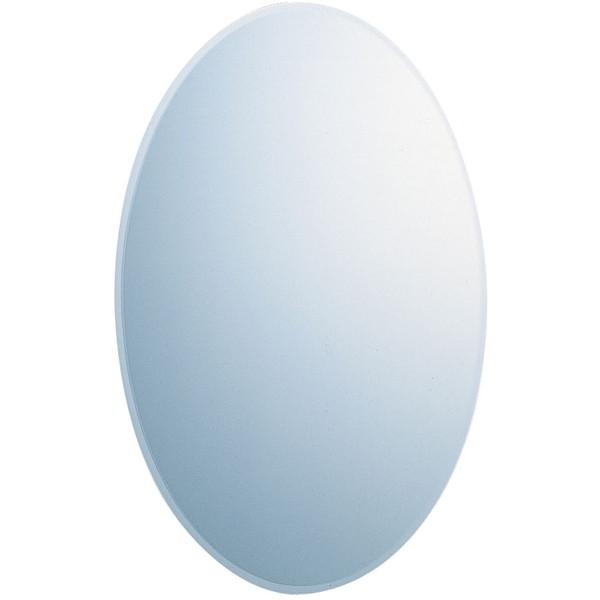 【送料無料】リラインス HM-052 [ミラー オーバル型] 鏡 ミラーキャビネット おしゃれ 洗面 清潔 フォルム 綺麗 インテリア リフォーム 模様替え