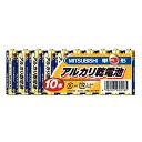 MITSUBISHI LR6N/10S [単3形アルカリ乾電池(10本パック)]