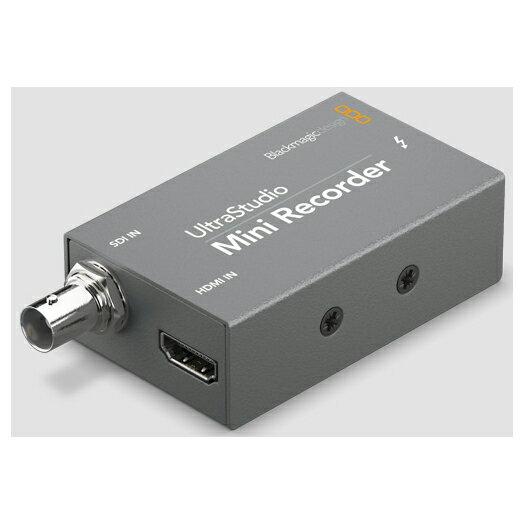 【送料無料】Blackmagic Design BDLKULSDZMINREC UltraStudio Mini Recorder [ビデオキャプチャ]