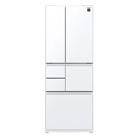 【送料無料】SHARP SJ-GT55C-W ピュアホワイト [プラズマクラスター冷蔵庫 (551L・フレンチドア・6ドア)]