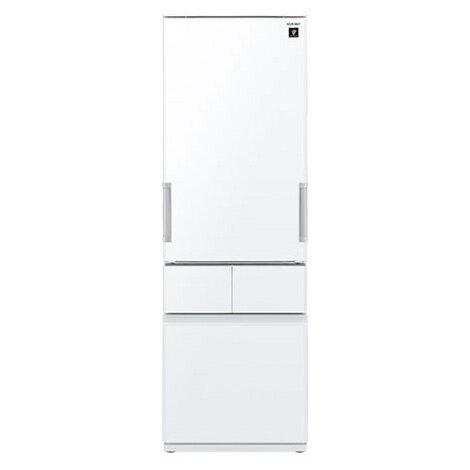 【送料無料】SHARP SJ-GT42C-W ピュアホワイト [プラズマクラスター冷蔵庫 (415L・左右開き・4ドア)]