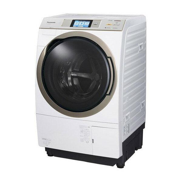【送料無料】PANASONIC NA-VX9700R-W クリスタルホワイト [ななめ型ドラム式洗濯乾燥機 (11kg) 右開き]