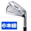 本間ゴルフ(HONMA) ツアーワールド TW737Vs アイアンセット6本組 NS PRO MODUS3 TOUR105 スチールシャフト フレックス:S #5-10 【日本..