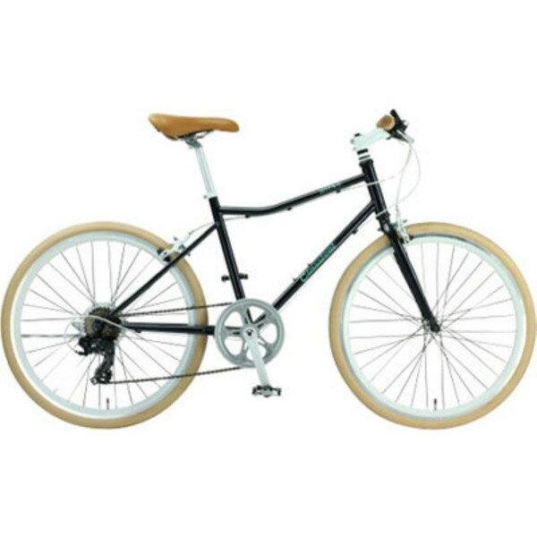 【送料無料】TOP ONE YCR247-68-BK ブラック [クロスバイク(24インチ・シマノ外装7段変速)]【同梱配送】【き】【沖縄・北海道・離島配送】 24インチサイズのおしゃれなクロスバイク新登場。