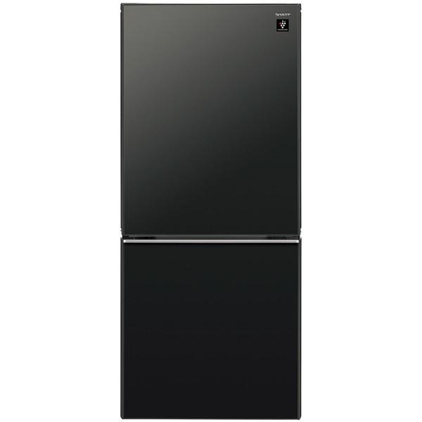 【送料無料】SHARP SJ-GD14C-B ピュアブラック [冷蔵庫 (137L・つけかえどっちもドア)]