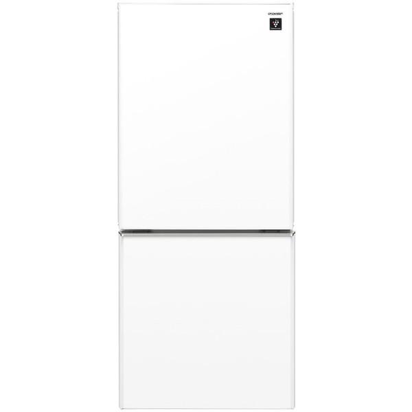 【送料無料】SHARP SJ-GD14C-W クリアホワイト [冷蔵庫 (137L・つけかえどっちもドア)]