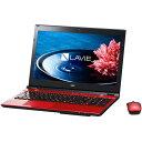 【送料無料】NEC PC-SN234HSA8-4 クリスタルレッド LAVIE Smart NS [ノートパソコン 15.6型ワイド DVDスーパーマルチドライブ HDD500GB]