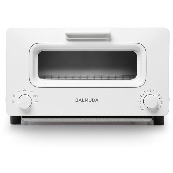 BALMUDA K01E-WS ホワイト The Toaster [オーブントースター(1300W)] K01EWS バルミューダ スチーム機能 リフレッシュモデル トースター