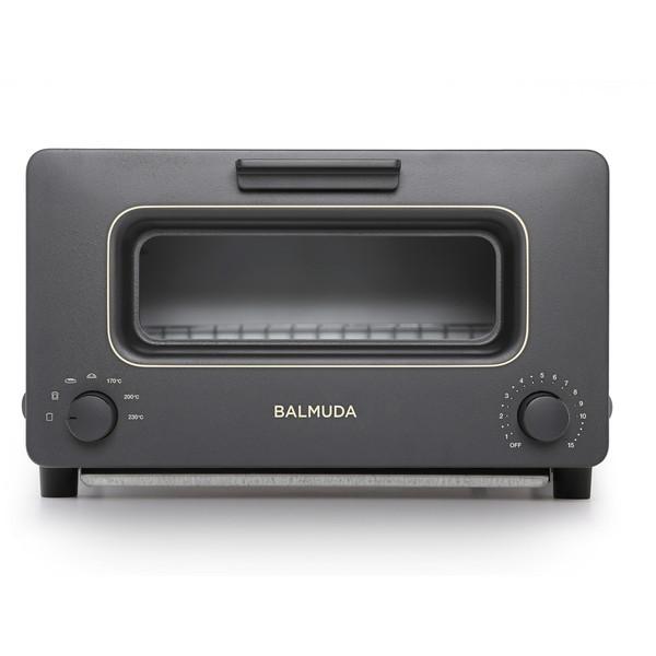 BALMUDA K01E-KG ブラック The Toaster [オーブントースター(1300W)] K01EKG バルミューダ スチーム機能 リフレッシュモデル トースター