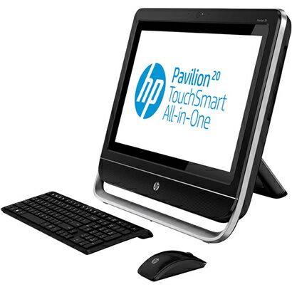 【送料無料】HP H6M06AA-AAAA ブラック Pavilion TouchSmart 20-f250jp All-in-One PC オフィスモ...