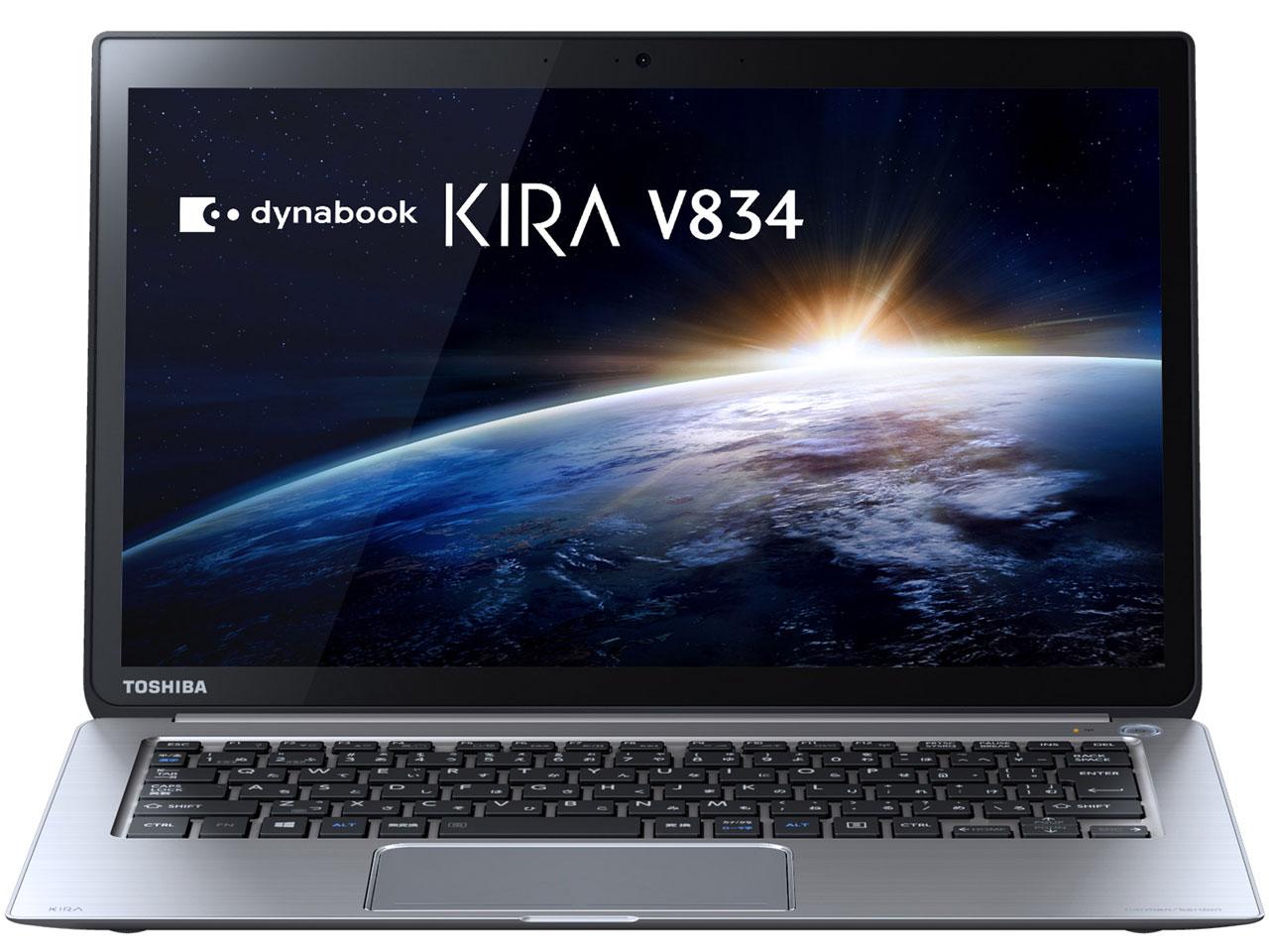 東芝 PV83429KNXS プレミアムシルバー dynabook KIRA V834 V834/29KS [ノートパソコン 13.3型ワイ...