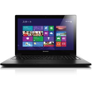 【送料無料】Lenovo 59376427 ブラック G500s Touch [ノートパソコン 15.6型ワイド液晶 HDD500GB+S...
