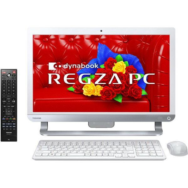 【送料無料】東芝 PD714T7LBXW リュクスホワイト dynabook REGZA PC D714/T7LW [デスクトップパソ...