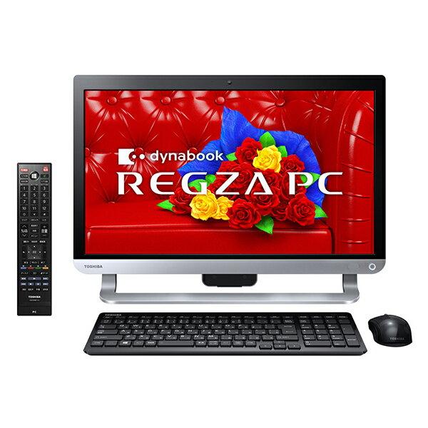 【送料無料】東芝 PD714T7LBXB プレシャスブラック REGZA PC [デスクトップパソコン 21.5型ワイド...