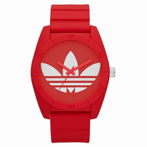 【送料無料】ADIDAS アディダス ADH6168 レッド SANTIAGO(サンティアゴ) [クォーツ腕時計]【クーポン対象商品】