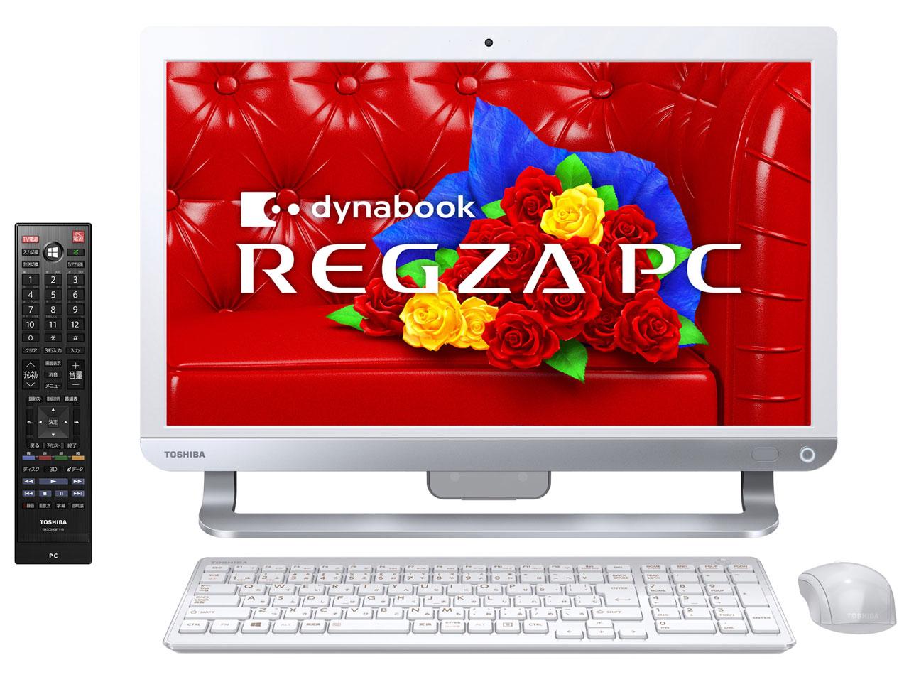 【送料無料】東芝 PD713T3LSXW リュクスホワイト dynabook REGZA PC D713/T3LW [デスクトップパソ...