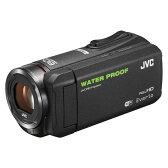 【送料無料】JVC (ビクター/VICTOR) ビデオカメラ 小型 防水対応 ハイビジョンメモリームービー Everio(エブリオ) フルハイビジョン (フルHD) 内蔵メモリー 64GB ブラック GZ-RX500-B 入学、入園、卒業