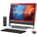 【送料無料】NEC PC-VN770SSR クランベリーレッド VALUESTAR N VN770/SS [デスクトップパソコン 23型ワイド液晶 HDD3TB ブルーレイドライブ]