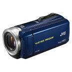 【楽天スーパーDEAL対象商品_20%ポイントバック】【送料無料】JVC GZ-R70-A ブルー Everio(エブリオ) [ビデオカメラ]