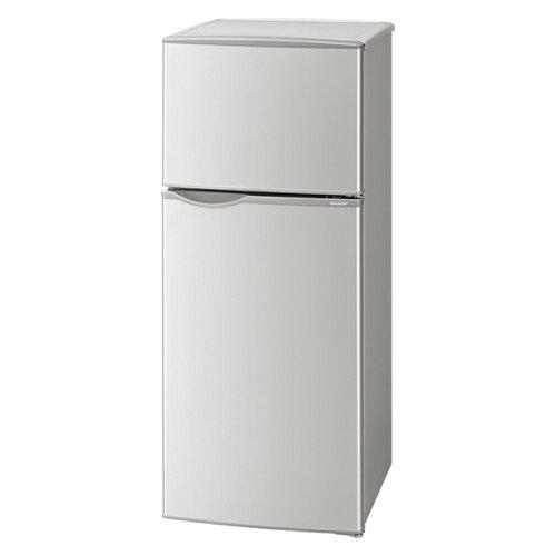 SHARPSJ-H12Y-Sシルバー系[冷蔵庫(118L・右開き)]