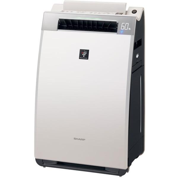 【送料無料】シャープ(SHARP) プラズマクラスター25000 加湿空気清浄機 KI-EX75-W ホワイト (空清清浄〜34畳/加湿〜20畳)/ウイルス/PM2.5/花粉/ニオイ/脱臭/タバコ/ホコリ/ハウスダスト/温度/湿度/カビ/省エネ/抑制/HEPA フィルター