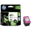 HP C2P07AA 3色カラー 62XL [インクカートリッジ 増量]【同梱配送不可】【代引き不可】【沖縄・北海道・離島配送不可】