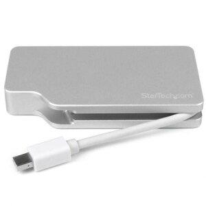 【送料無料】StarTech MDPVGDVHD4K [Mini DisplayPort-VGA/DVI/HDMI変換アダプタ]