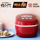 【送料無料】(レビューを書いてプレゼント 実施商品〜6/25まで) タイガー 炊飯器 もち麦 健康 TIGER JPC-A101-RC カーマインレッド 炊きたて 圧力IH炊飯ジャー(5.5合炊き) JPCA101RC