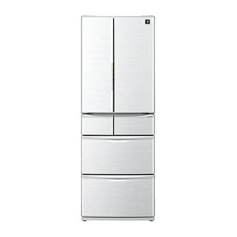 【送料無料】SHARP SJ-PF46C-H グレー系 [プラズマクラスター冷蔵庫 (455L・6ドア・フレンチドア)]