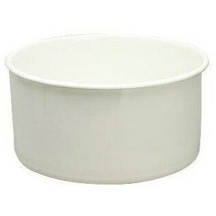 【送料無料】野田琺瑯 WA-P ホワイト [丸型洗い桶] WAP