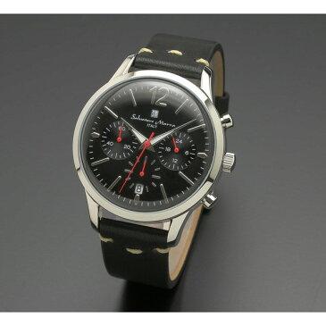 【送料無料】Salvatore Marra SM17110-SSBK [腕時計 (クオーツ・メンズ)]