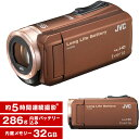 【送料無料】JVC (ビクター/VICTOR) ビデオカメラ 32GB 大容量バッテリー GZ-F1 ...